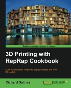 3D Printing with RepRap Cookbook (Paperback)-cover