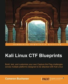 Kali Linux CTF Blueprints (Paperback)-cover