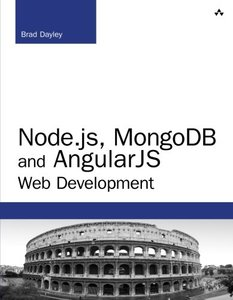 Node.js, MongoDB, and AngularJS Web Development (Paperback)-cover