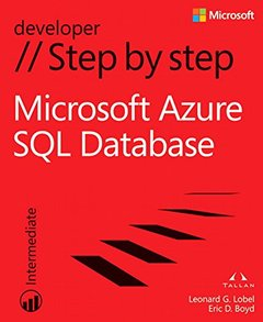 Microsoft Azure SQL Database Step by Step (Paperback)-cover