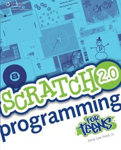 Scratch 2.0 Programming for Teens, 2/e (Paperback)-cover