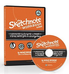 The Sketchnote Workbook Video: Advanced techniques for taking visual notes you can use anywhere (Multimedia DVD)-cover
