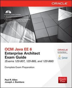 OCM Java EE 6 Enterprise Architect Exam Guide (Exams 1Z0-807, 1Z0-865 & 1Z0-866), 3/e (Paperback)-cover