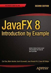 JavaFX 8: Introduction by Example, 2/e (Paperback)-cover