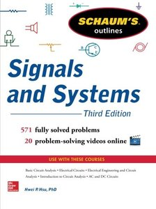 Schaum's Outline of Signals and Systems, 3/e (Paperback)-cover