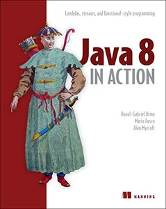 Java 8 In Action (Paperback)-cover