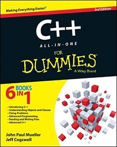 C++ All-in-One For Dummies, 3/e (Paperback)-cover