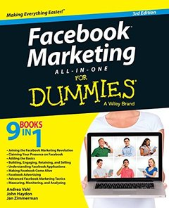 Facebook Marketing All-in-One For Dummies, 3/e (Paperback)-cover