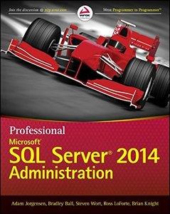 Professional Microsoft SQL Server 2014 Administration (Paperback)-cover