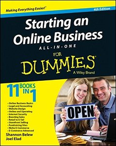 Starting an Online Business All-in-One For Dummies, 4/e (Paperback)