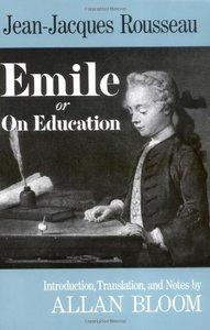 Emile: Or On Education-cover