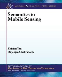 Semantics in Mobile Sensing (Paperback)-cover