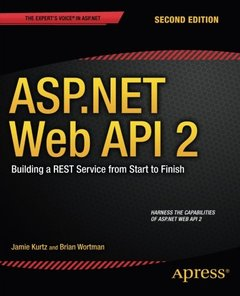 ASP.NET Web API 2: Building a REST Service from Start to Finish, 2/e (Paperback)-cover