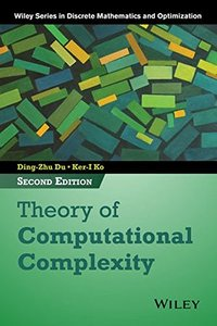 Theory of Computational Complexity, 2/e (Hardcover)-cover