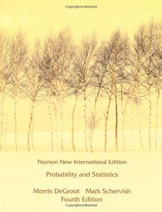 Probability and Statistics, 4/e (NIE-Paperback)-cover