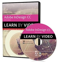 Adobe InDesign CC Learn by Video (2014 release) (Multimedia DVD)-cover