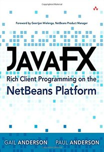 JavaFX Rich Client Programming on the NetBeans Platform (Paperback)-cover
