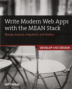 Write Modern Web Apps with the MEAN Stack: Mongo, Express, AngularJS, and Node.js (Paperback)-cover