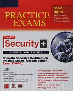 CompTIA Security+ Certification Bundle, 2/e (Exam SY0-401) (Paperback)-cover