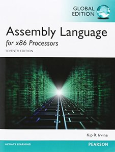 Assembly Language for x86 Processors, 7/e (IE-Paperback)-cover
