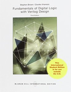 Fundamentals of Digital Logic with Verilog Design, 3/e (IE-Paperback)-cover