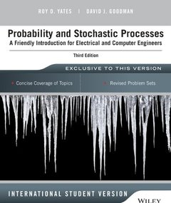 Probability and Stochastic Processes: A Friendly Introduction for Electrical and Computer Engineers, 3/e (IE-Paperback)-cover