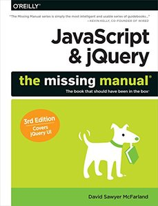 JavaScript & jQuery: The Missing Manual, 3/e (Paperback)-cover