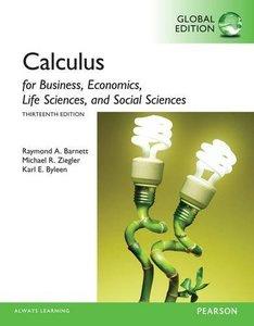 Calculus for Business, Economics, Life Sciences and Social Sciences, 13/e (IE-Paperback)-cover