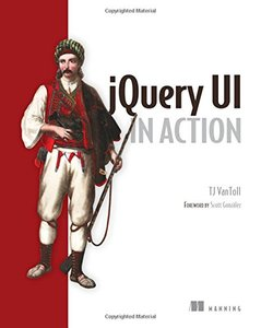 jQuery UI in Action (Paperback)-cover
