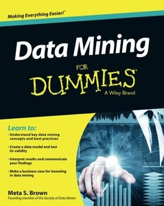 Data Mining For Dummies (Paperback)-cover