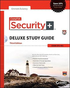 CompTIA Security+ Deluxe Study Guide: SY0-401, 3/e (Hardcover)-cover