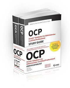 OCP Oracle Certified Professional on Oracle 12c Certification Kit (Paperback)-cover