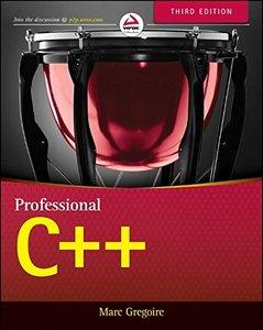 Professional C++, 3/e (Paperback)-cover