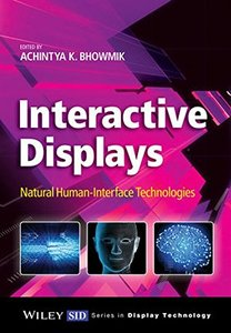Interactive Displays: Natural Human-Interface Technologies (Hardcover)-cover