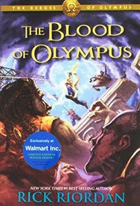 The Heroes of Olympus Book Five: The Blood of Olympus (Hardcover)-cover