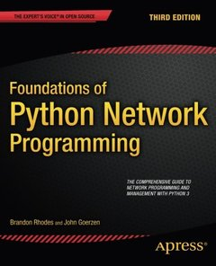 Foundations of Python Network Programming, 3/e (Paperback)-cover