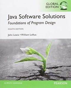 Java Software Solutions Foundations of Program Design, 8/e (IE-Paperback)