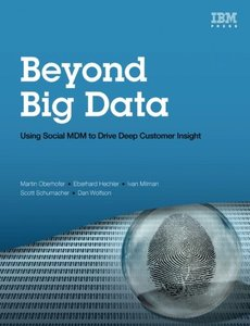 Beyond Big Data: Using Social MDM to Drive Deep Customer Insight (Paperback)-cover