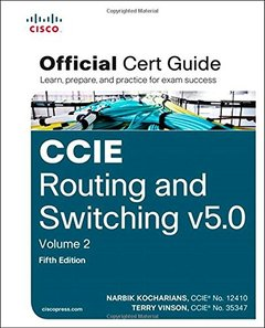 CCIE Routing and Switching v5.0 Official Cert Guide, Volume 2, 5/e (Hardcover)-cover