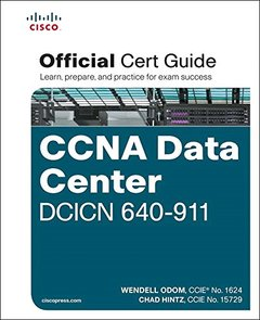 CCNA Data Center DCICN 640-911 Official Cert Guide (Hardcover)-cover