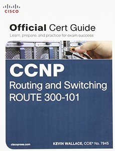 CCNP Routing and Switching ROUTE 300-101 Official Cert Guide (Hardcover)-cover