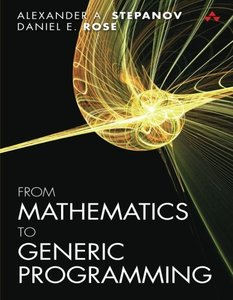 From Mathematics to Generic Programming (Paperback)-cover