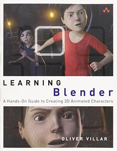 Learning Blender: A Hands-On Guide to Creating 3D Animated Characters (Paperback)-cover