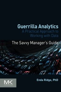Guerrilla Analytics: A Practical Approach to Working with Data (Paperback)-cover