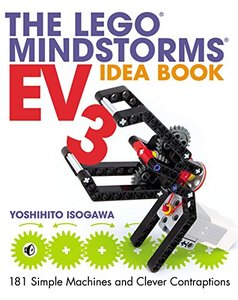 The LEGO MINDSTORMS EV3 Idea Book: 181 Simple Machines and Clever Contraptions (Paperback)-cover