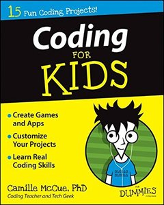 Coding For Kids For Dummies (Paperback)-cover