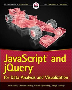 JavaScript and jQuery for Data Analysis and Visualization (Paperback)-cover