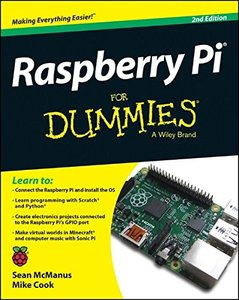 Raspberry Pi For Dummies, 2/e (Paperback)-cover