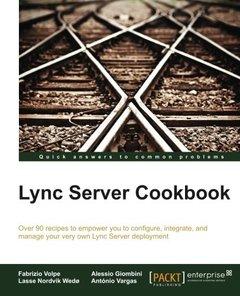 Lync Server Cookbook-cover