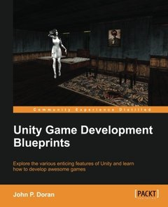 Unity Game Development Blueprints (Paperback)-cover